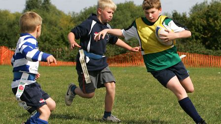 Rugby open day at the WANSTEAD RFC, Roding Lane North