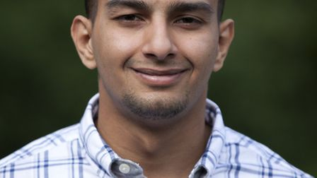 Yusuf Naing worked part-time to get himself through college Picture: Matt Cetti-Roberts