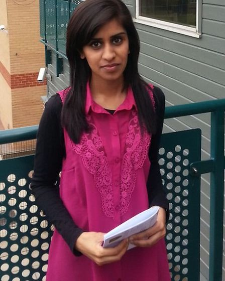 Fayza Din got an A* and two As in her A-levels