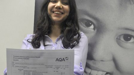 Anamaria Drago, who only recently learnt to speak English, is heading to university Picture: Michael