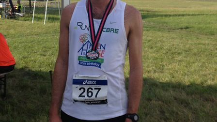 Miles Skinner ran the 100km marathon in Sweden to raise money for Haven House Children's Hospice in