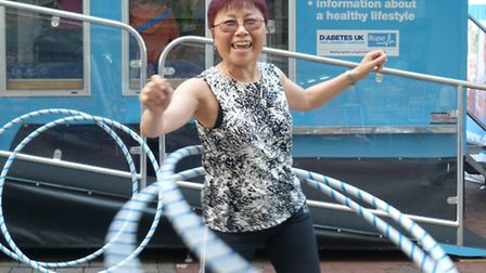 Betty Tse was one of the 220 people assessed by the Diabetes UK Roadshow