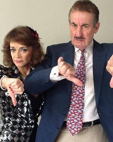 Sue Holderness and John Challis, better known as Marlene and Boycie from Only Fools and Horses