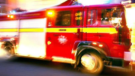 Fire crews raced to the scene: PA