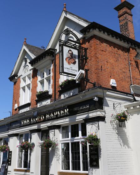 The Lord Napier Pub before it closed in May.