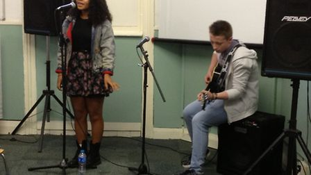Music mentoring is among activities at the River Christian Centre