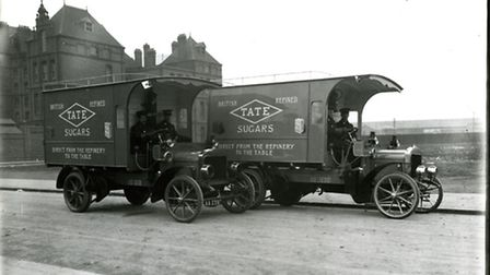 Tate&Lyle delivery van