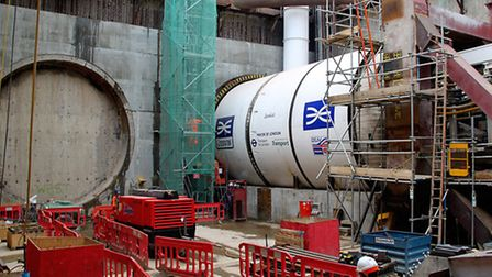 Crossrail tunnelling machine named after Olympic champion Jessica Ennis-Hill