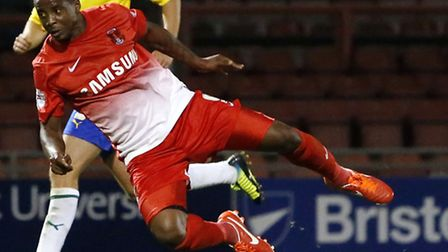 Kevin Lisbie was Orient's matchwinner again at Stevenage (Pic: Simon O'Connor)