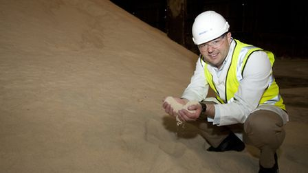 Tate&Lyle Sugars Vice-president Gerald Mason at the refinery in Silvertown.