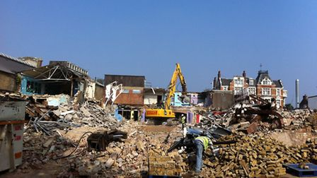 Demolition is due to be completed in October