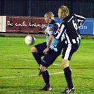 Brian Suchley scored twice for Barkingside in their 3-2 win over Heybridge Swifts. Pic: Alexander Ma