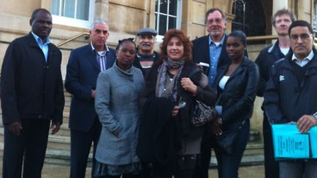 Residents from the Save King George Hospital campaign asked the council for support fighting the clo