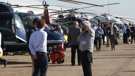 Helitech International is designed to give European makers of helicopters the chance to network and