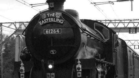 A steam train on its way to Romford from Norwich was a regular sight in the 1960s.