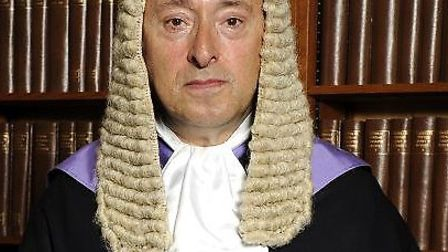 Judge Nigel Peters. Picture: Photoshot