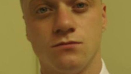 Police are looking for Jake Baker after an armed robbery on Sunday.