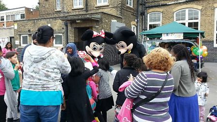 Families enjoyed a fun filled day at the local school