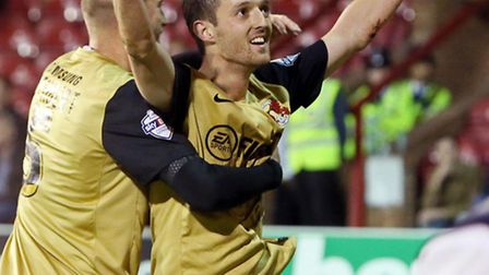 Leyton Orient's David Mooney has won the League One player of the month award for September. Pic: Si
