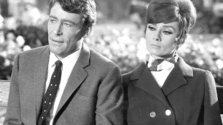 Audrey Hepburn and Peter O'Toole in a film directed by William Wyler.