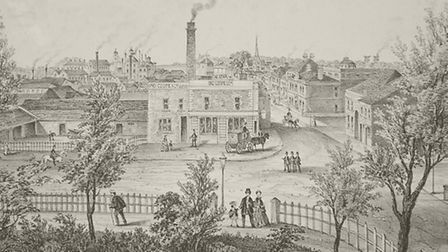 Romford Brewery expanded after 1845 after the Liverpool to Manchester railway was opened. Picture Lo