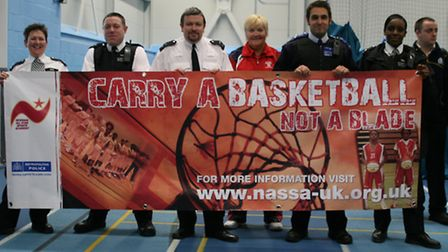 The Carry A Basketball Not A Blade project will mark its fifth anniversary