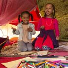 House of Fairytales setting up art circus for kids