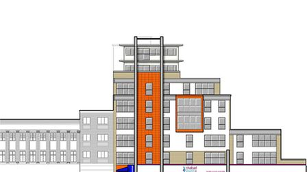 Plans for the eight-story building. Image: Dovetail Architects