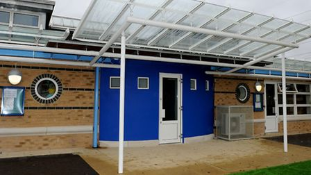 Part of the new extension at Gallions Reach Primary School