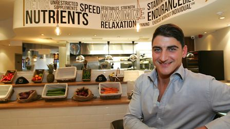 Steven Mavrou's restaurant in Gants Hill is already proving popular with celebrities and sports star