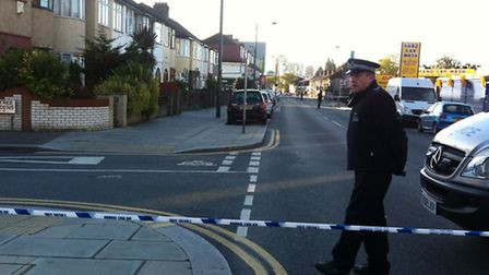 Police were called to the scene in Ilford Lane at 12.15am this morning