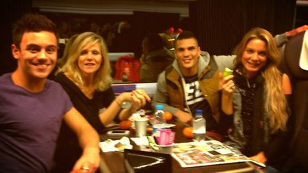 Anthony Ogogo is appearing in celebrity ITV 1 show Splash! with fellow Olympic diving bronze medalli