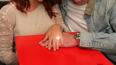 James Bernie, from Romford proposed to his girlfriend Natalie Crozier, on Deal or no Deal.