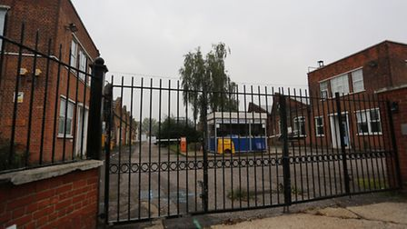 Developers Taylor Wimpey want to build the estate on the old Kelvin Hughes factory in Hainault