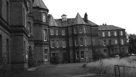 Claybury Hopsital before it was converted into flats.