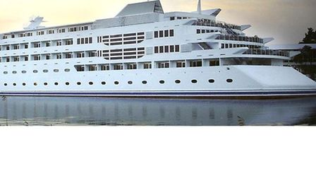 Sunborn Princess is set to become a permanent fixture in the Royal Docks