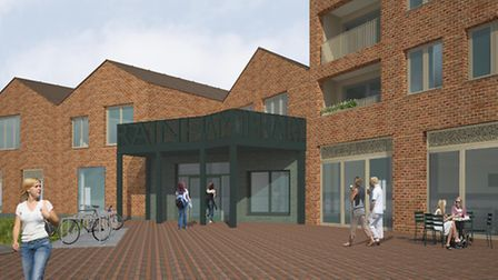 What Rainham Library will look like when it's finished