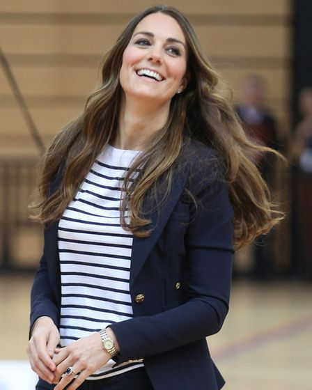 The Duchess of Cambridge, Patron of SportsAid, attends a SportsAid Athlete Workshop at the Copper Bo
