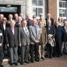 Ilford County High School's class of 1953 at their reunion