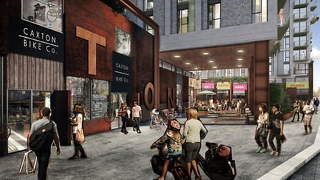 How Canning Town warehouse redevelopment will look