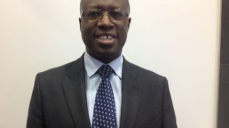 Frank Chinegwundoh MBE led the drop-in clinic