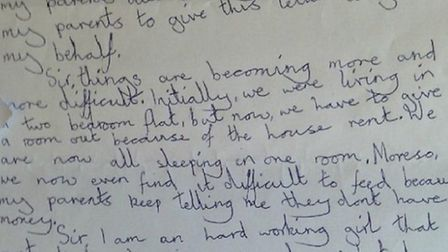 Letter form an eight-year-old to MP Stephen Timms