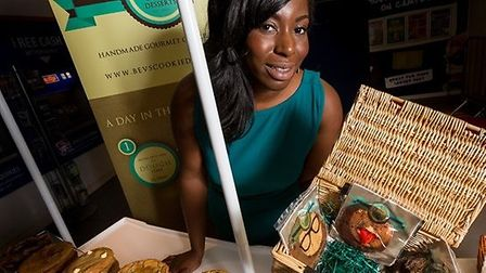 Beverly has won £2,000 to help her with her dessert business