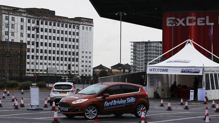 The Ford Driving Skills for Life experience at the ExCel London.