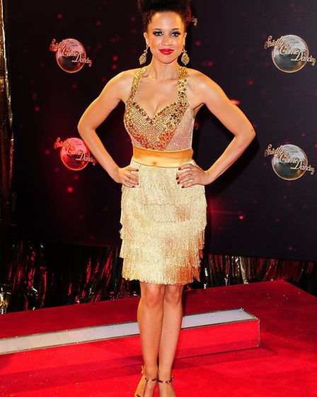 Natalie Gumede arriving for the Strictly Come Dancing Photocall at Elstree Studios, London.