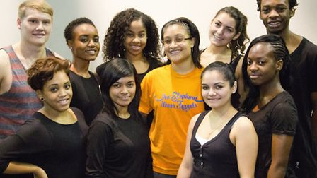 'Urban Dance' students at UEL who perform for Princess Royal