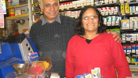 Aswin and Annapurnaben Patel are retiring after 32 years