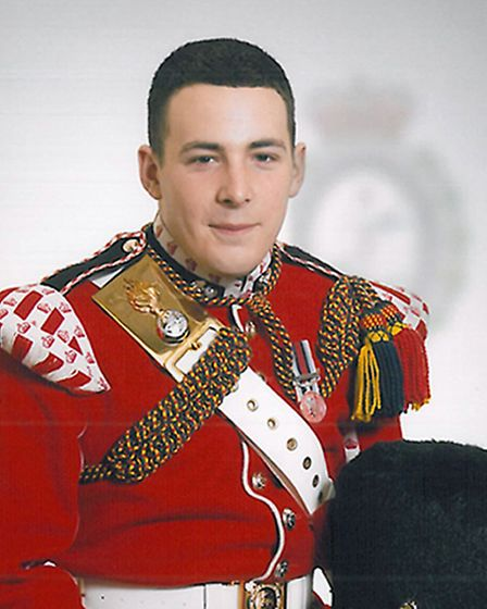 Lee Rigby was died in Woolwich on May 22. Picture: MoD/PA