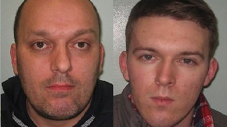 Convicted metal thieves (from left) ringleader Simon Read and Ricky Read