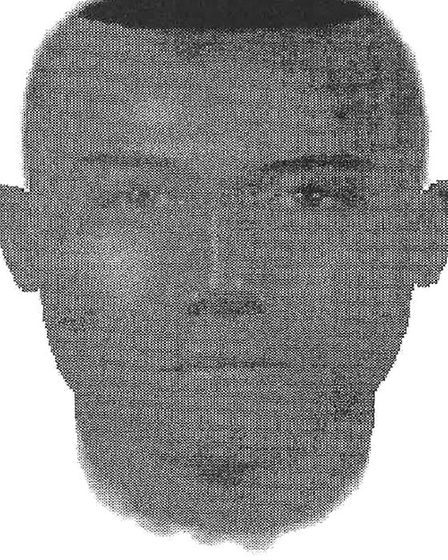 An e-fit released by police of a suspect in the 1996 murder of Christopher Lombard